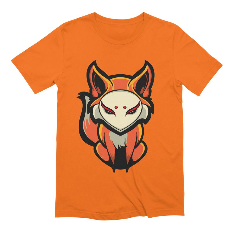 Kitsune Men's Extra Soft T-Shirt by HYDRO74