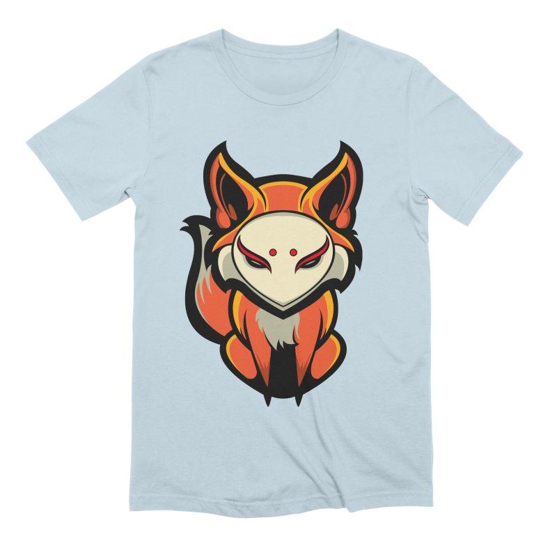 Kitsune Men's Extra Soft T-Shirt by HYDRO74