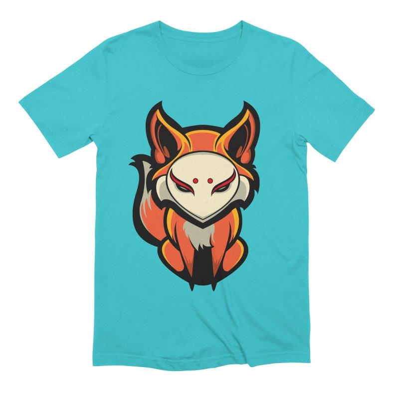 Kitsune Men's T-Shirt by HYDRO74