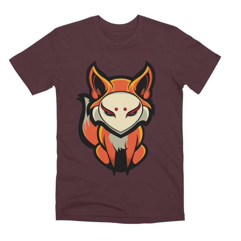 Kitsune Men's Premium T-Shirt by HYDRO74