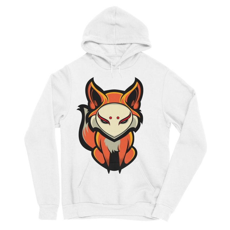 Kitsune Women's Sponge Fleece Pullover Hoody by HYDRO74