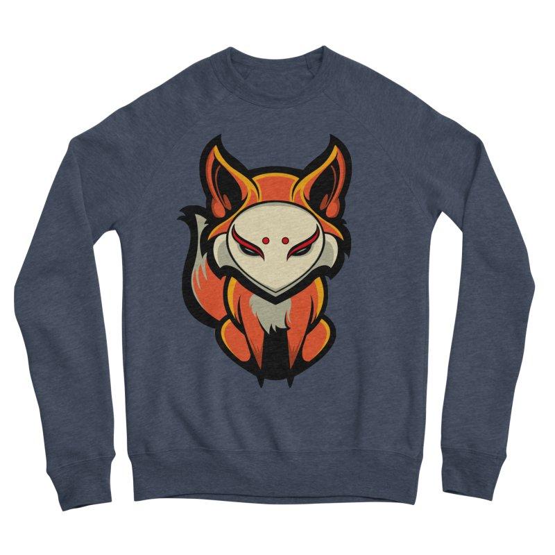 Kitsune Men's Sponge Fleece Sweatshirt by HYDRO74