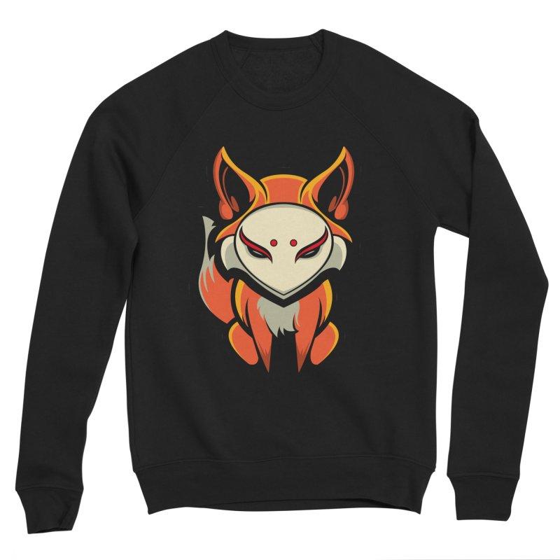 Kitsune Women's Sponge Fleece Sweatshirt by HYDRO74