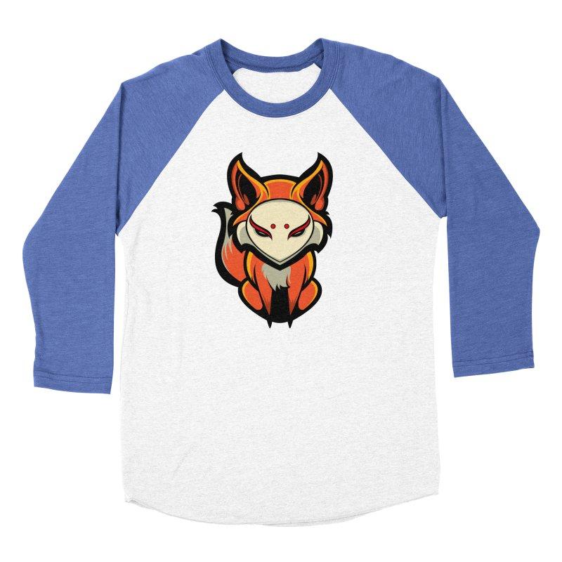 Kitsune Women's Longsleeve T-Shirt by HYDRO74