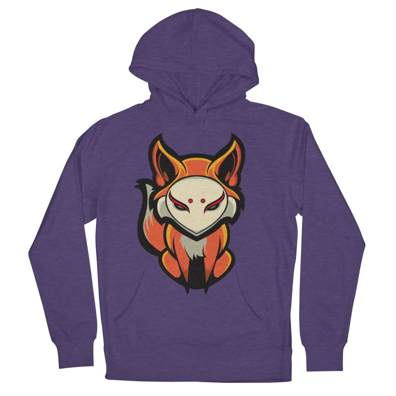 Kitsune Men's French Terry Pullover Hoody by HYDRO74