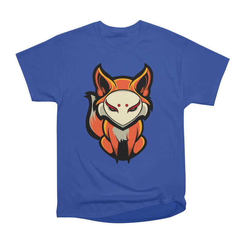 Kitsune Women's Heavyweight Unisex T-Shirt by HYDRO74