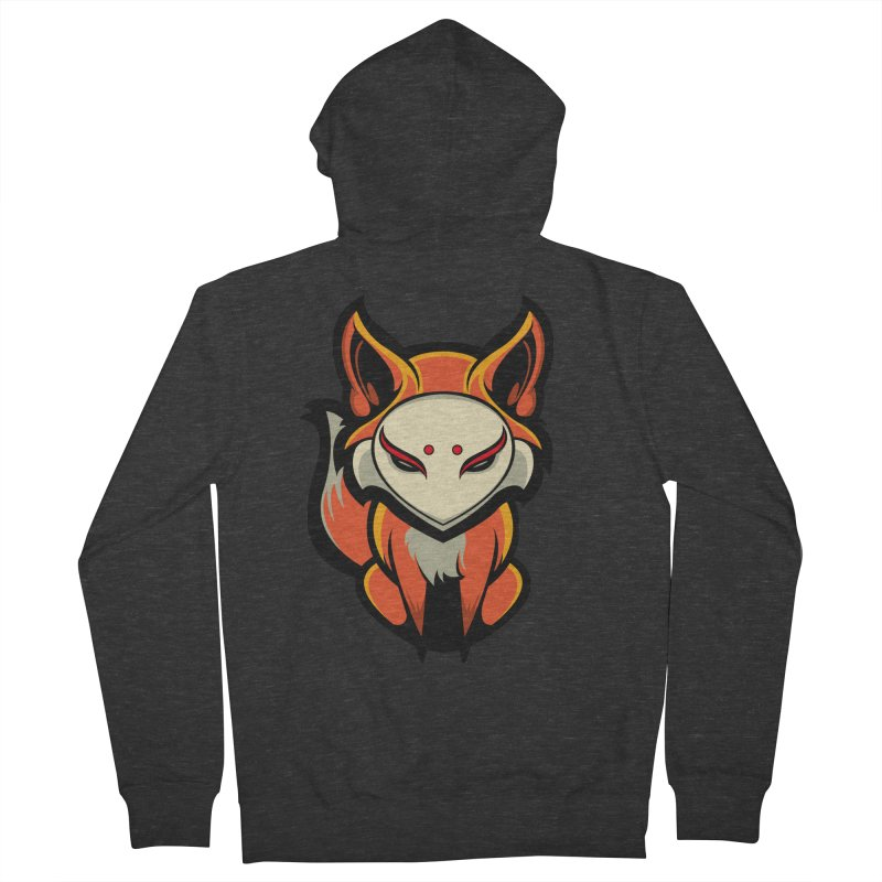 Kitsune Women's French Terry Zip-Up Hoody by HYDRO74
