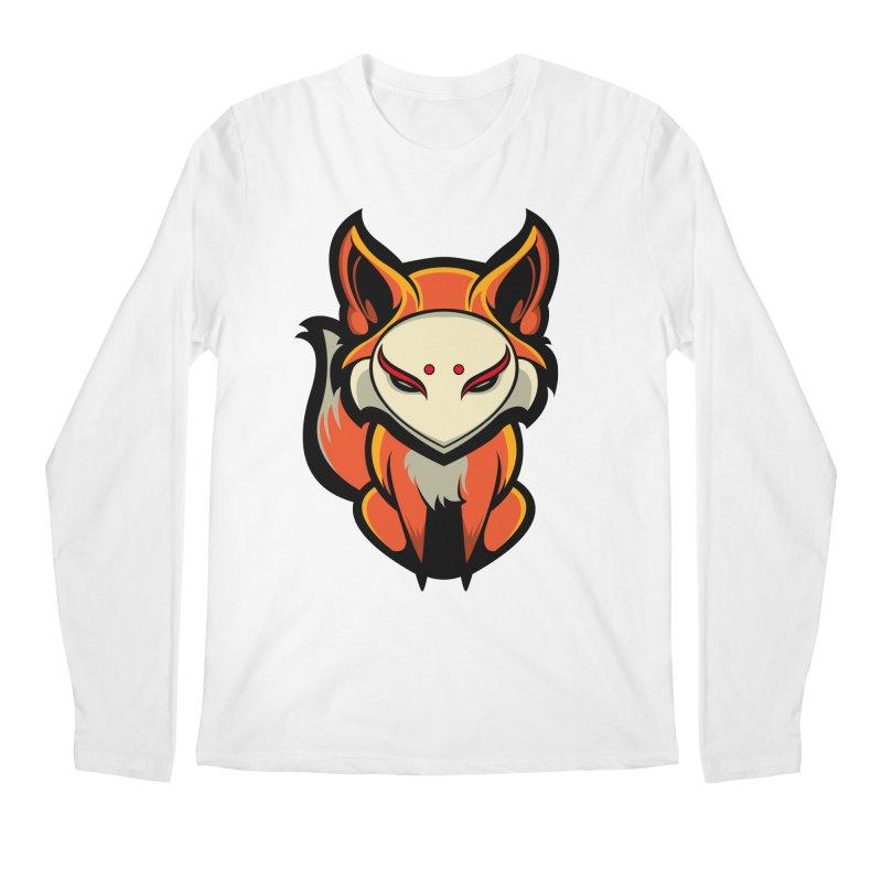 Kitsune Men's Regular Longsleeve T-Shirt by HYDRO74