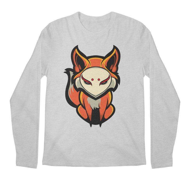 Kitsune Men's Regular Longsleeve T-Shirt by HYDRO74