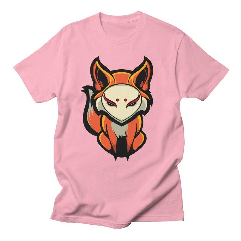 Kitsune Men's Regular T-Shirt by HYDRO74