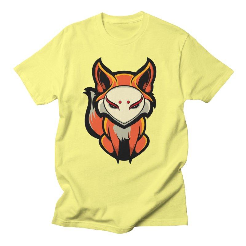 Kitsune Women's Regular Unisex T-Shirt by HYDRO74