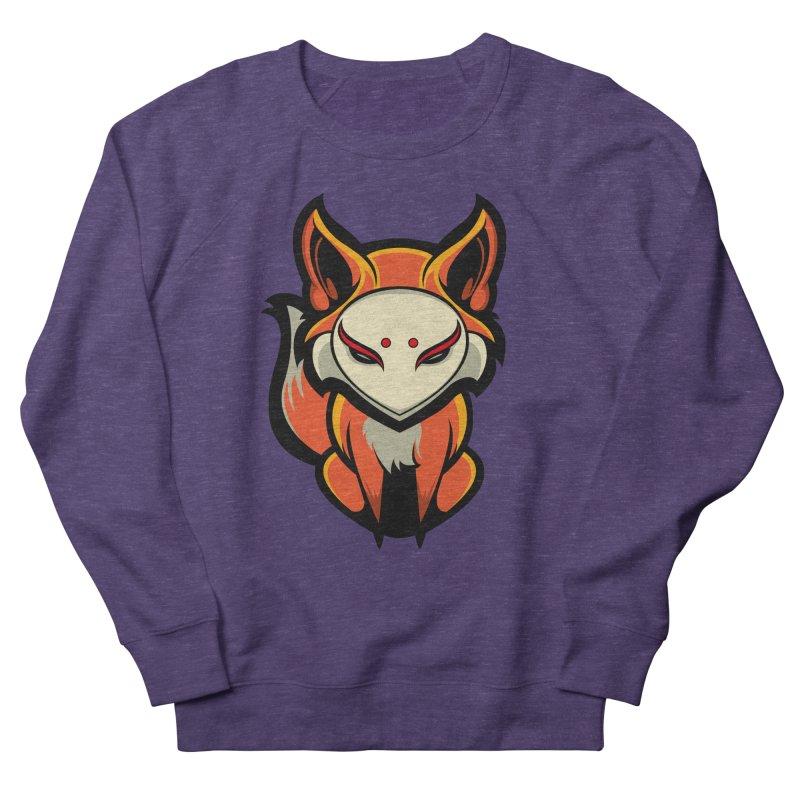 Kitsune Women's French Terry Sweatshirt by HYDRO74