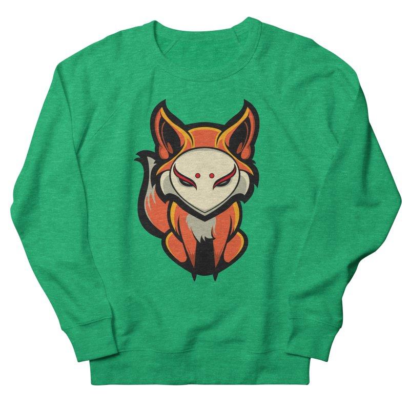 Kitsune Men's French Terry Sweatshirt by HYDRO74