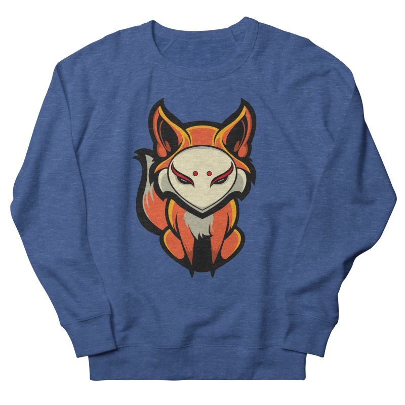 Kitsune Men's French Terry Sweatshirt by HYDRO74