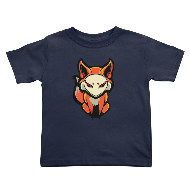 Kitsune Kids Toddler T-Shirt by HYDRO74