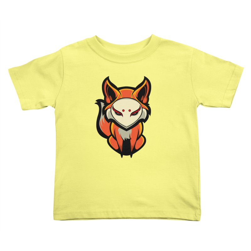 Kitsune Kids Toddler T-Shirt by HYDRO74