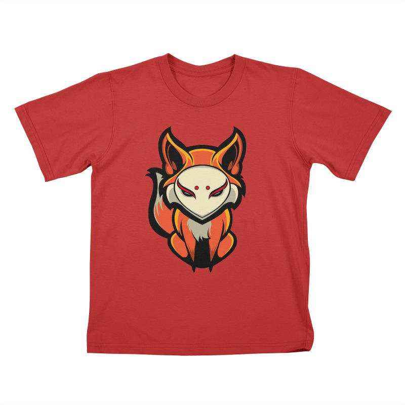 Kitsune Kids T-Shirt by HYDRO74