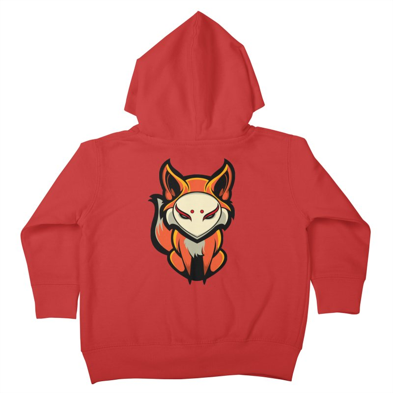 Kitsune Kids Toddler Zip-Up Hoody by HYDRO74