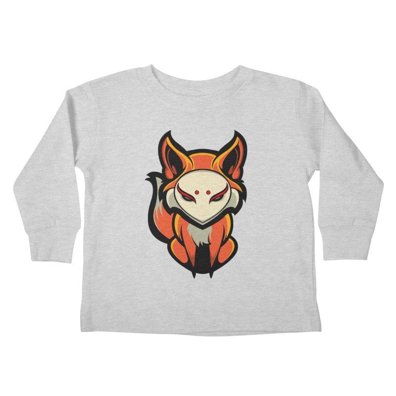 Kitsune Kids Toddler Longsleeve T-Shirt by HYDRO74