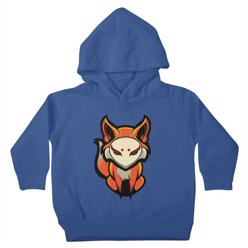 Kitsune Kids Toddler Pullover Hoody by HYDRO74