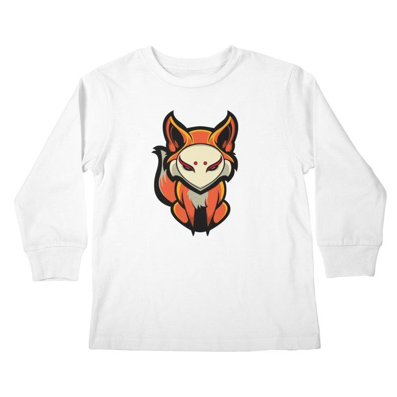 Kitsune Kids Longsleeve T-Shirt by HYDRO74