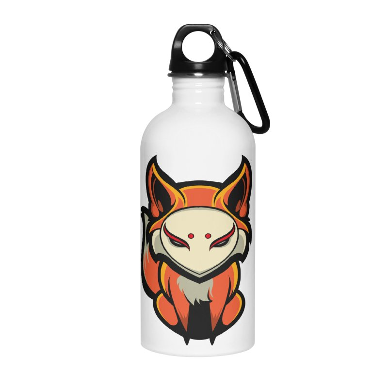 Kitsune Accessories Water Bottle by HYDRO74