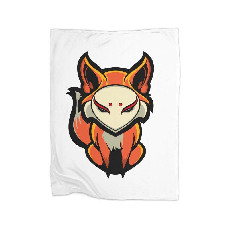Kitsune Home Blanket by HYDRO74