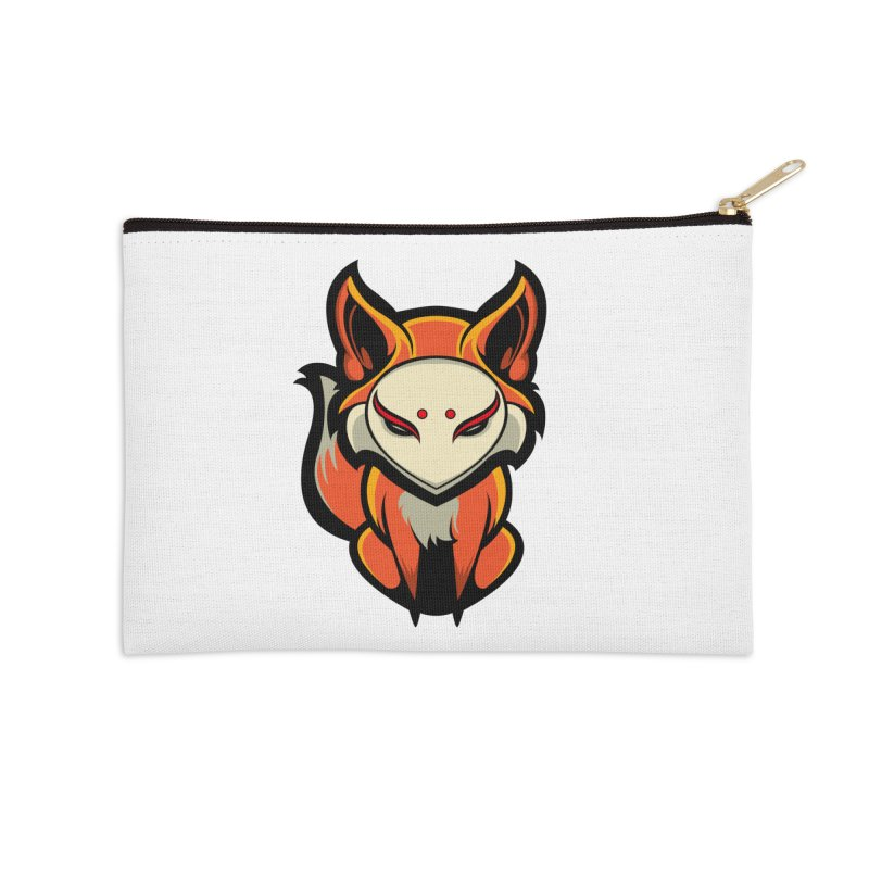 Kitsune Accessories Zip Pouch by HYDRO74
