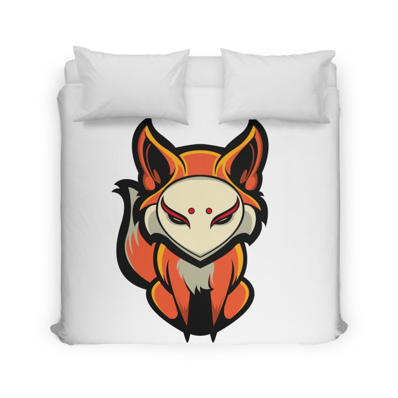 Kitsune Home Duvet by HYDRO74