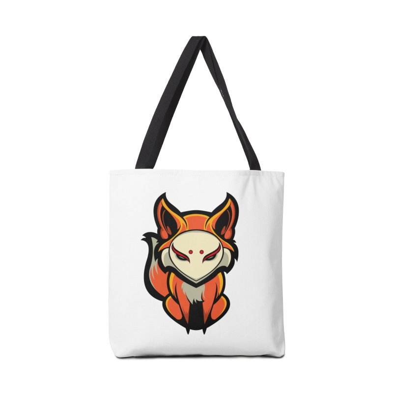 Kitsune Accessories Tote Bag Bag by HYDRO74