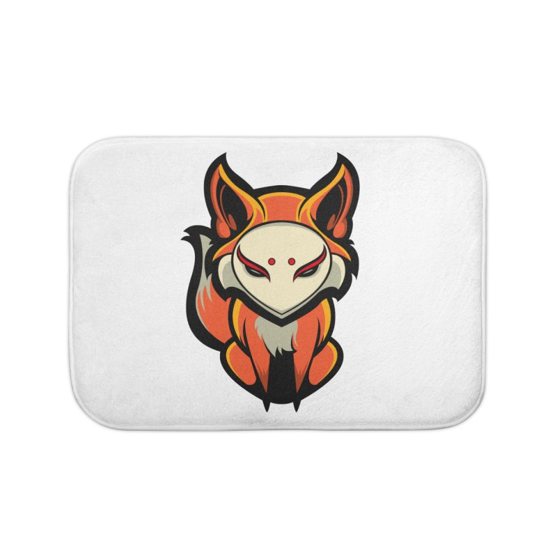 Kitsune Home Bath Mat by HYDRO74