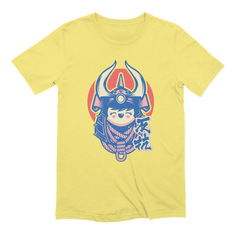 Kawaii in Men's Extra Soft T-Shirt Light Yellow by HYDRO74