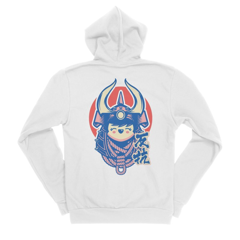 Kawaii Women's Sponge Fleece Zip-Up Hoody by HYDRO74