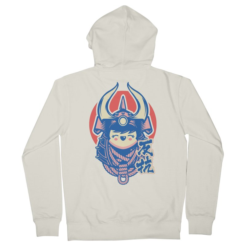 Kawaii Women's French Terry Zip-Up Hoody by HYDRO74