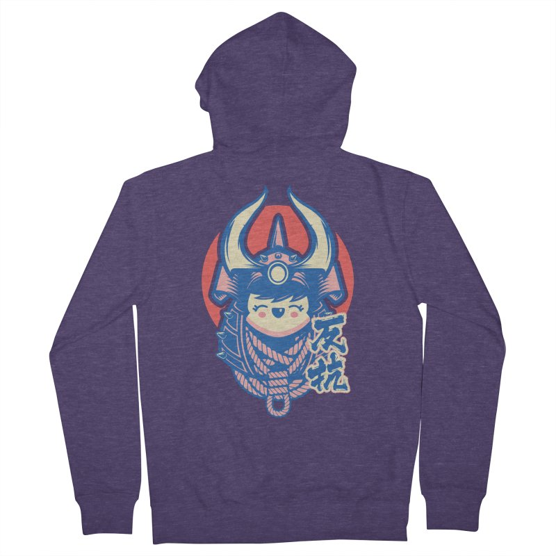Kawaii Men's French Terry Zip-Up Hoody by HYDRO74