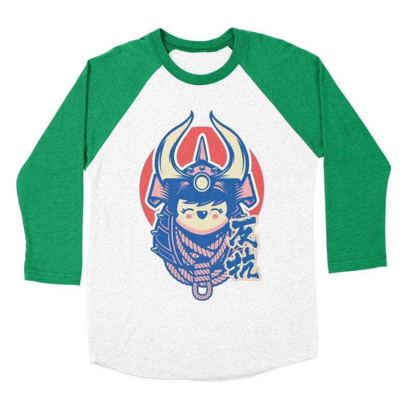 Kawaii Women's Baseball Triblend Longsleeve T-Shirt by HYDRO74