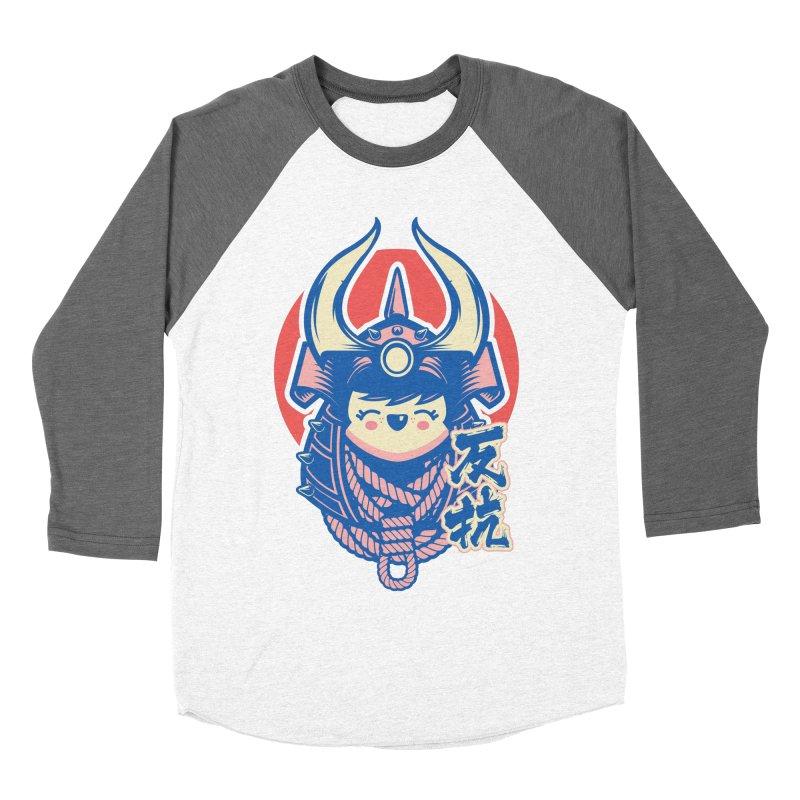 Kawaii Men's Baseball Triblend Longsleeve T-Shirt by HYDRO74