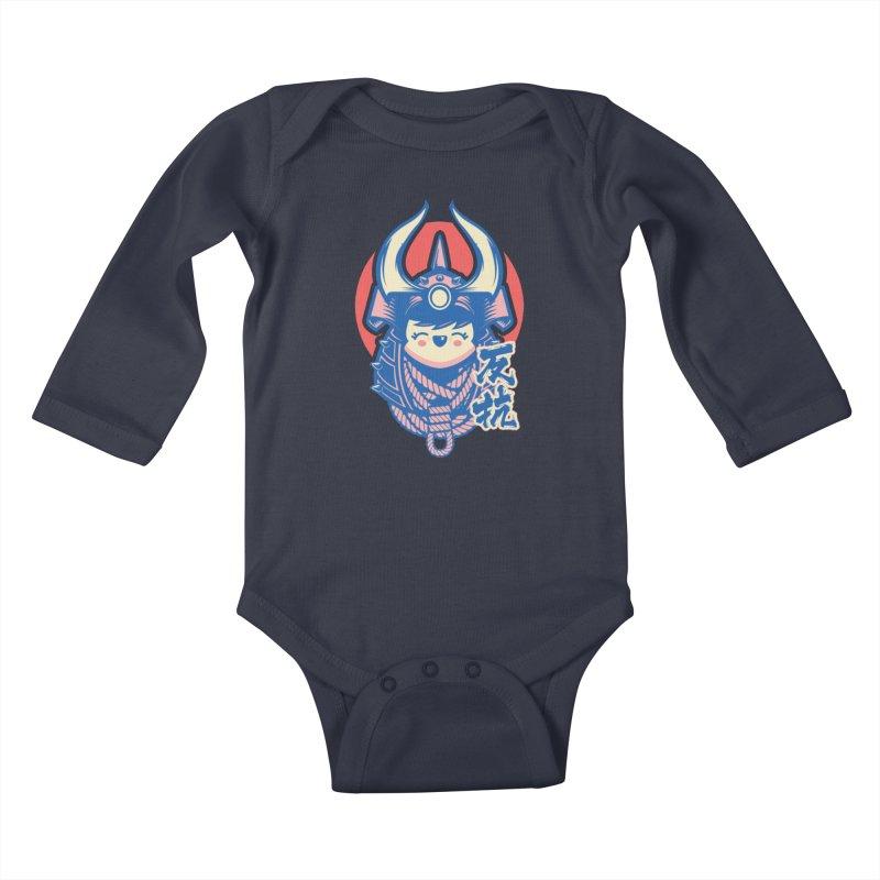 Kawaii Kids Baby Longsleeve Bodysuit by HYDRO74