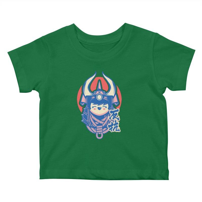 Kawaii Kids Baby T-Shirt by HYDRO74