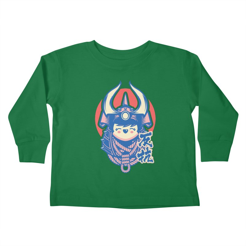 Kawaii Kids Toddler Longsleeve T-Shirt by HYDRO74
