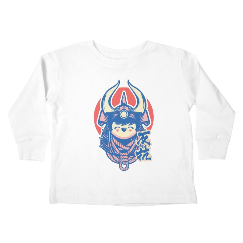Kawaii Kids Toddler Longsleeve T-Shirt by HYDRO74