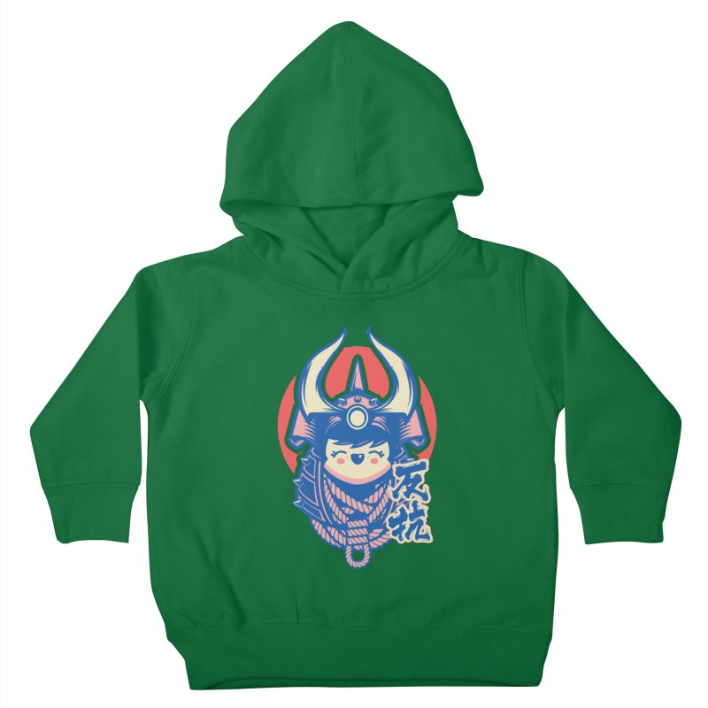 Kawaii Kids Toddler Pullover Hoody by HYDRO74