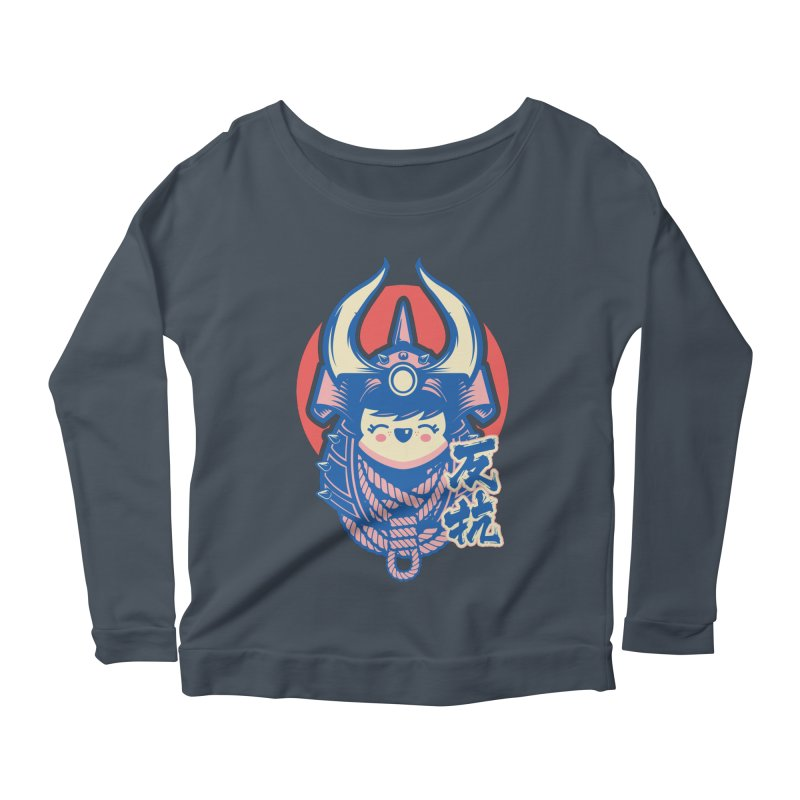 Kawaii Women's Scoop Neck Longsleeve T-Shirt by HYDRO74