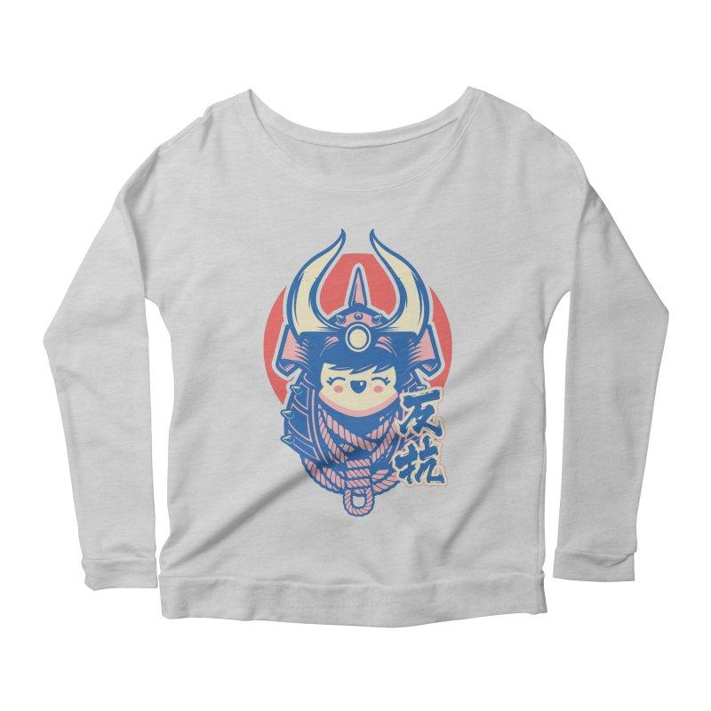 Kawaii Women's Scoop Neck Longsleeve T-Shirt by HYDRO74