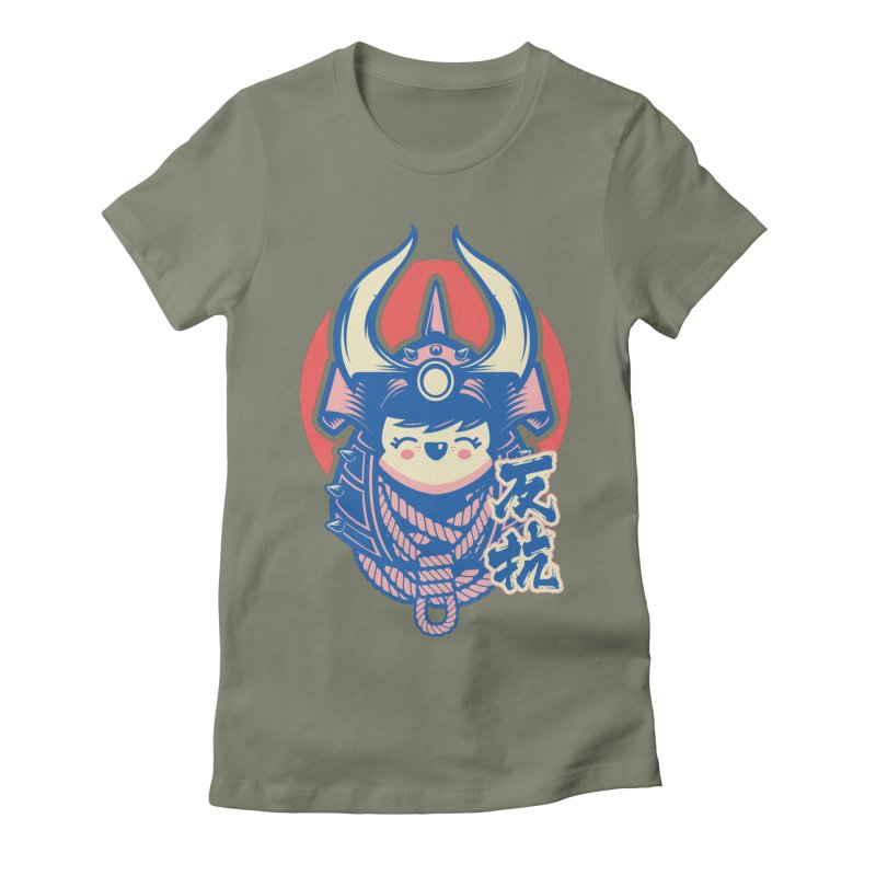 Kawaii Women's Fitted T-Shirt by HYDRO74