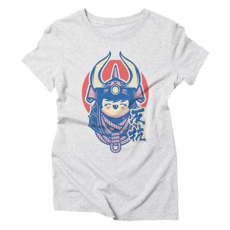 Kawaii Women's Triblend T-Shirt by HYDRO74