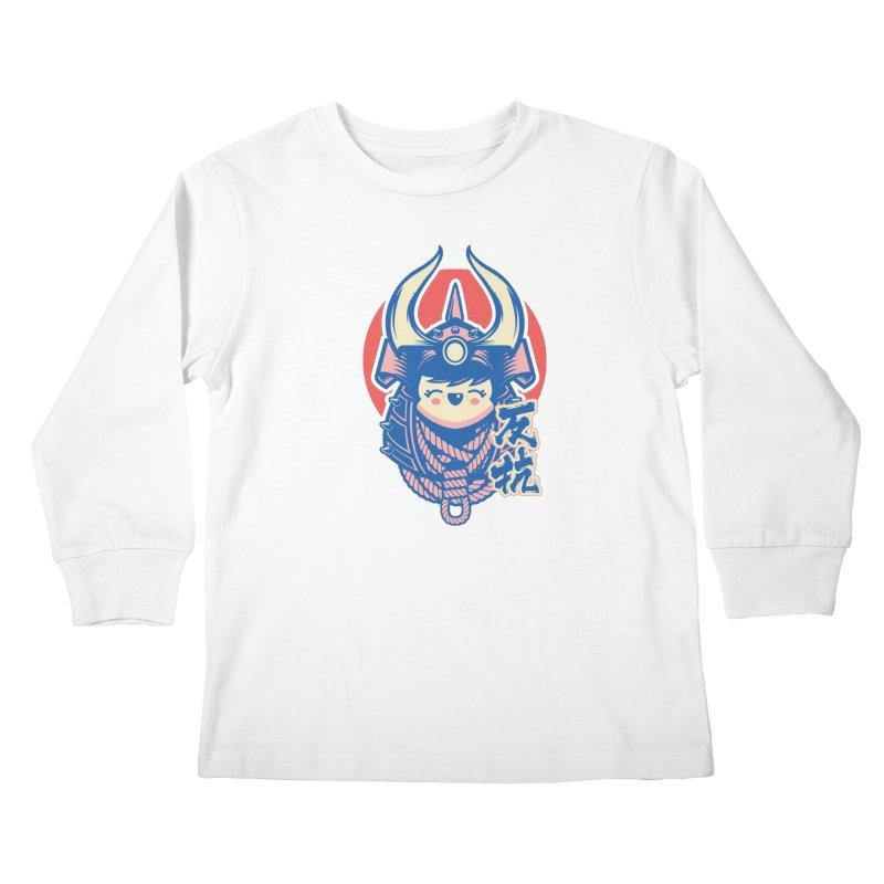 Kawaii Kids Longsleeve T-Shirt by HYDRO74