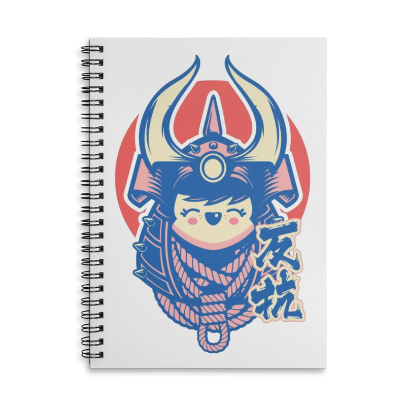 Kawaii Accessories Lined Spiral Notebook by HYDRO74