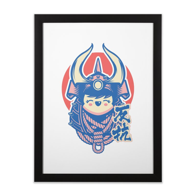 Kawaii Home Framed Fine Art Print by HYDRO74