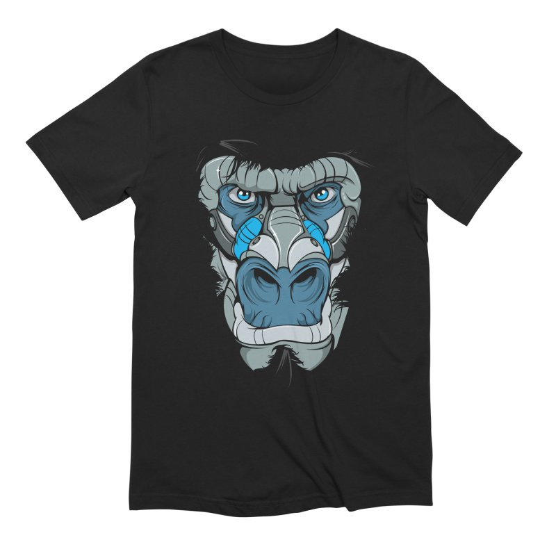 Hydro74 Old School Ape Men's Extra Soft T-Shirt by HYDRO74